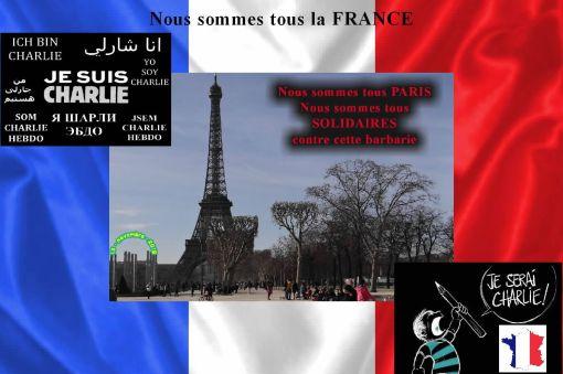 Nous sommes tous la FRANCE - 01